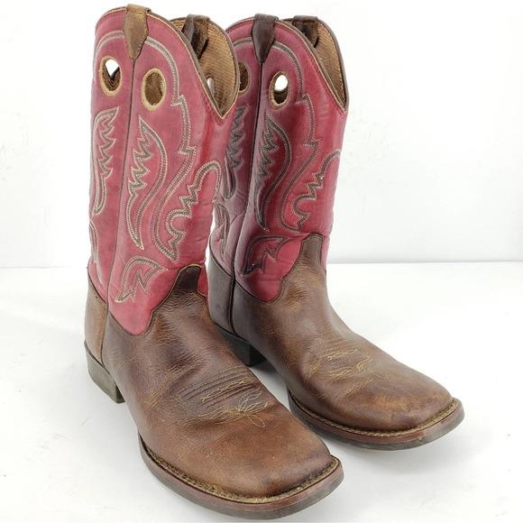 Justin Boots Other - Justin Girls Bent Rail Arizona Buffalo Cowboy Boot